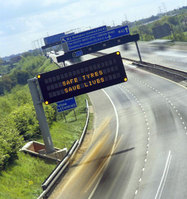 Tyre incidents inspire new motorway messages