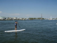 Paddle board like a celebrity on the Chesapeake Bay, Maryland