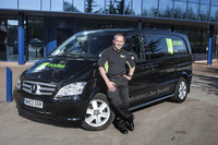 David's new Mercedes-Benz Vito Sport is an 'open and shut' winner