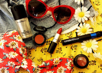 MAC Cosmetics gets into the Festival Spirit at the V Festival 2013