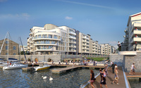 Harbourside proves popular following launch of final phase