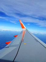 easyJet's lighter aircraft takes flight from London Gatwick