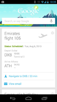 Emirates becomes the first Airline in the Middle East to use Google Now