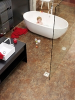 Innovative flooring ideal for kitchens and bathrooms