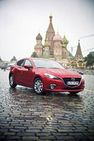 Eight all-new Mazda3 hatchbacks arrive in Moscow