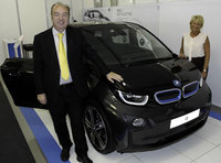 The revolutionary BMW i3 makes its debut at LCV2013