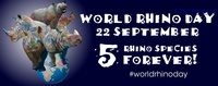 World Rhino Day 2013