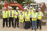 Work gets underway on new sports centre at The Parks
