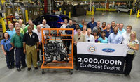 Ford builds two millionth fuel-efficient EcoBoost engine