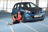 Katarina Johnson-Thompson lines up to 'Go Get It' with new Nissan Micra