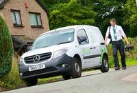 Warmer Energy switches to Mercedes-Benz vans