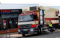 Palmer and Harvey expands fleet with fridge-bodied Mercedes-Benz Axor