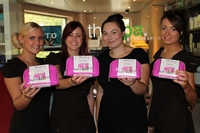 Breast Cancer Awareness Month at top spa