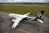 Air New Zealand's new livery takes flight