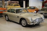 SkyFall's DB5 now on display at the Heritage Motor Centre