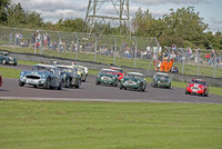 Jaguars celebrated at Castle Combe Autumn Classic