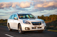 Subaru Outback gets a makeover and diesel auto