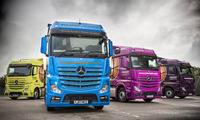 Premier Logistics looks forward to a bright future with colourful new Actros fleet