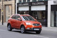 Korando prices 'fall' this autumn