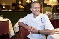 Michel Roux Jr in residence at Cobblers Cove, Barbados