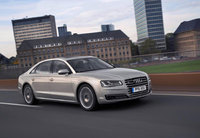 UK new generation Audi A8 models ready for a grand entrance