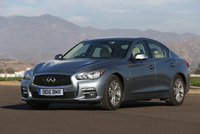 New Infiniti Q50 'Executive' means business