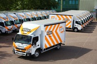 Rygor helps London Evening Standard deliver the news with FUSO Canter fleet