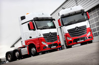 New Actros is ahead on fuel for MSL Transport