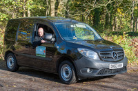 Blue is the new 'green' for Nurturing Nature's Mercedes-Benz Citan