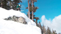 Skiing in Whistler Blackcomb, British Columbia