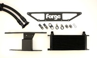 Forge Motorsport engine oil cooler for the Audi RS4 4.2 V8