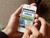 """Smart"" move for MBNA card services customers"