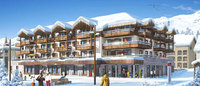 New apartments take shape in France's oldest 'gastronomic' ski resort