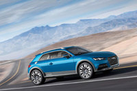 Audi allroad shooting brake show car leads the charge in Detroit