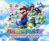 Head out on a tour around the Mario Party: Island Tour website!