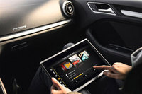 New Audi tablet puts in-car entertainment in the palm of your hand
