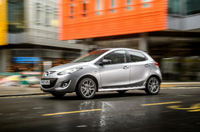 Two 'Colour Edition' models join enhanced Mazda2 line-up