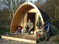 Luxury camping pods at heart of Lake District cycle tour