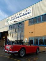 Anglo Pacific brings rare Triumph home from Malta