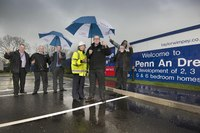 New Taylor Wimpey development in Truro officially unveiled as Penn An Dre