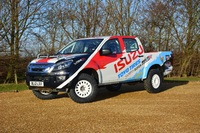 Isuzu D Max Rally Truck