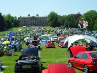 Classic cars converge at Ragley for nostalgic show