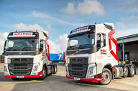 First Euro-6 Volvos join Neill & Brown Global Logistics fleet