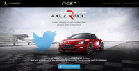 Take on the new Peugeot RCZ R on Twitter