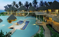 The largest resort villa in the Indian Ocean