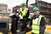 Rory Stewart MP kick starts McCarthy & Stone's construction