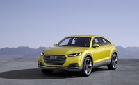 Audi TT offroad concept show car brings the best of two worlds to Beijing