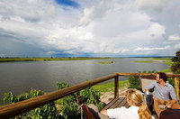 The Chobe Boardwalk & Deck, Chobe National Park, Botswana