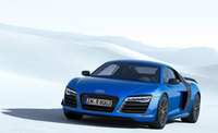 World first - Laser lights as standard for new Audi R8 LMX