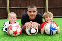 Pro footballer prefers artificial pitch from LazyLawn